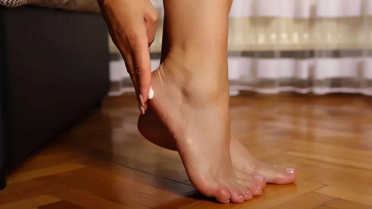 pés secos como cuidar