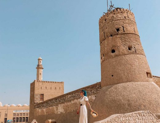 Wall of Old Dubai deisi remus